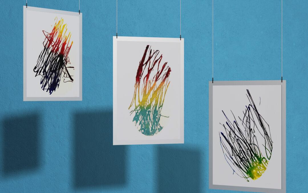 Stampe d'arte Carborundum Colore