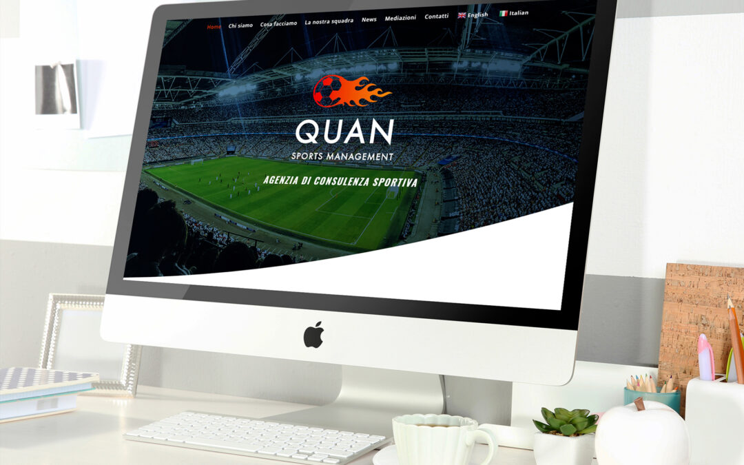 Sito web Quan Sports Management