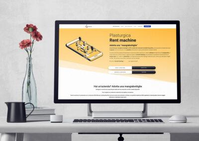 E-commerce Rent Machine Plasturgica