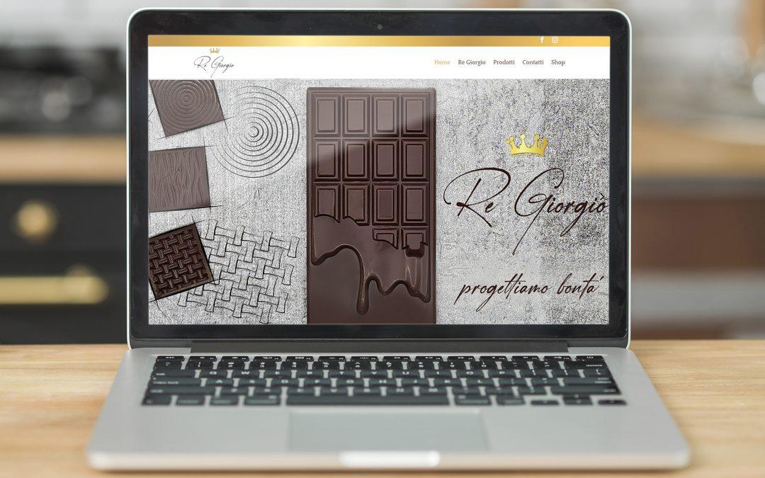 Sito web Re Giorgio Cioccolato